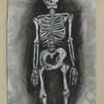 Charcoal: Skeleton Study