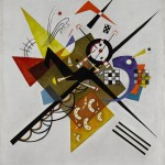 Kandinsky, On White II, 1923