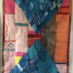 hourglass pattern quilttop, 2019